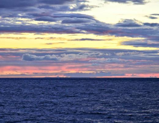 Il rumore delle onde dell'oceano