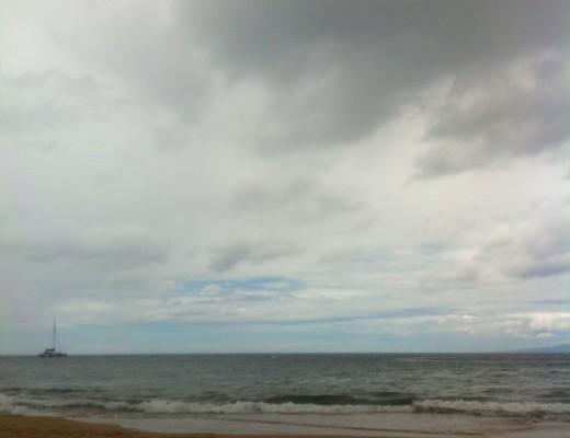 Quando l'oceano sembra finire